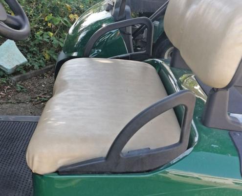 EZGO-RXV-grün-Sitze