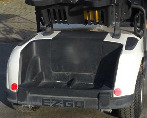 Golfcarts-gebraucht-RXV-weiss-Rückseite